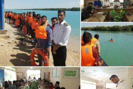 آموزش دوره قایقران ویژه گردشگری برای قایقرانان مجموعه گردشگری حرا در بندرخمیر