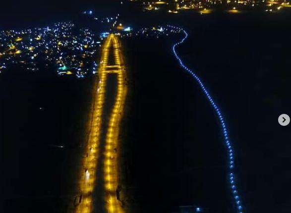 بهره برداری از پروژه روشنایی مسیر خمیر تا لشتغان