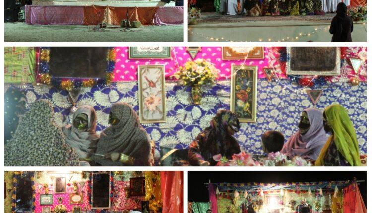 اجرای مراسم کامل عروسی سنتی بندرخمیر در شب اول جشنواره حرا