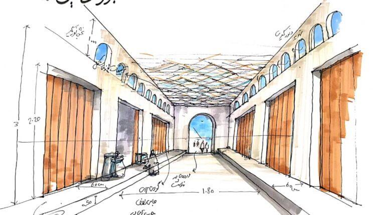 باز طراحی بازار خانی بندرخمیر توسط شهرداری بندرخمیر انجام شد