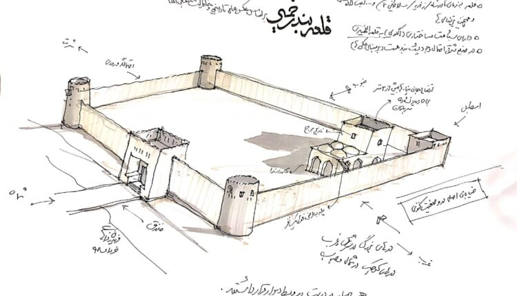 قلعه بندرخمیر باز طراحی شد