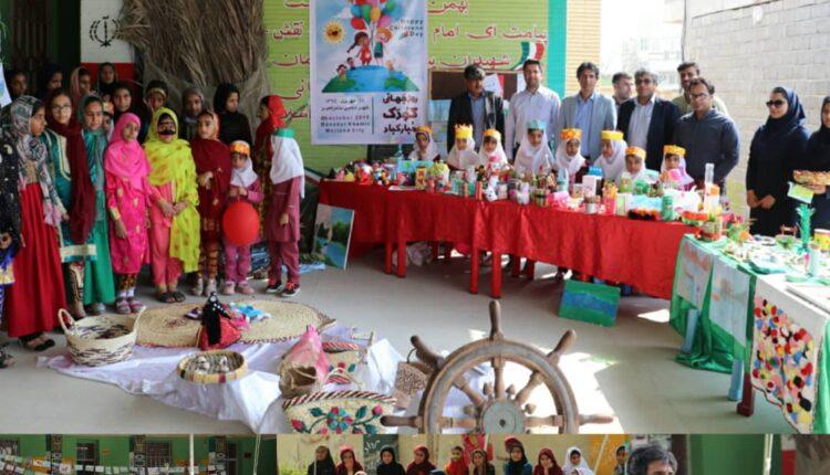 جشن روز جهانی کودک  در بندرخمیر با اموزشهای محیط زیستی و حفظ تالاب همراه شد