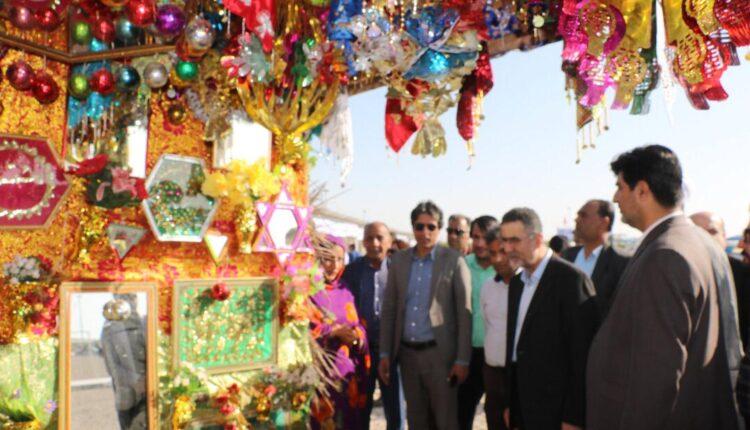 نمایشگاه صنایع دستی و کارآفرینی بانوان در بندرخمیر گشایش یافت